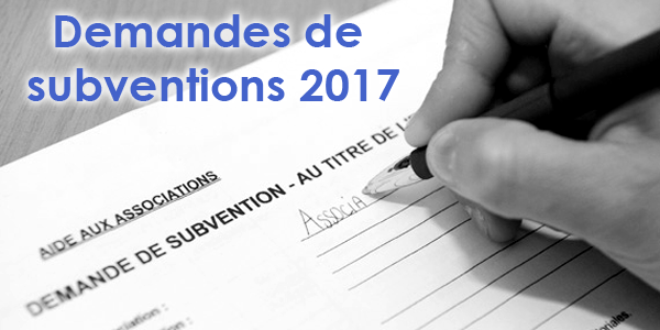 SUBVENTIONS 2017